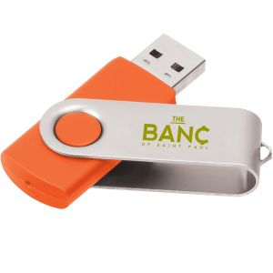 Manufacture Printed Swing Custom USB Flash Drives - 2GB At Low Offer