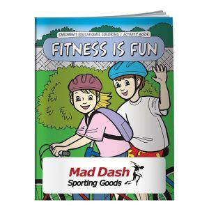 Manufacture in Bulk Promo Coloring Book - Fitness is Fun Top Print Store