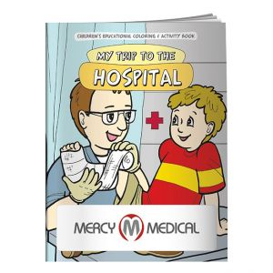 Purchase Promo Coloring Book - My Trip to the Hospital Best Printing Factory