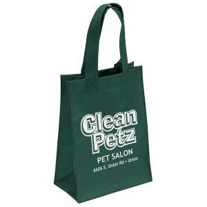 "Economical Print Promotional Non-Woven Shopper Tote Bag - 8""w x 10""h x 4""d At Low Price"