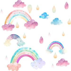 Rainbow Wall Stickers | Decoration Stickers