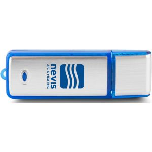 Best Rectangle Translucent Accent Logo USB Drive - 1GB Printing Store