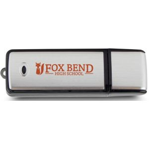 Bargain Rectangle Translucent Accent Logo USB Drive - 16GB Best Printing Factory