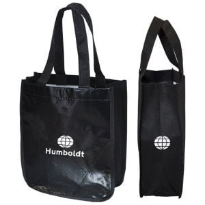 """Lowest Price Recycled Non-Woven Logo Tote Bag - 9.25""""w x 11.75""""h x 4.5""""d Printing Factory"""