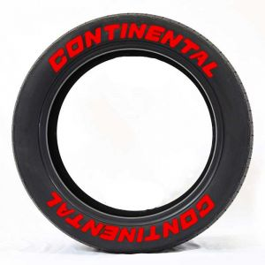 Red Tire Lettering | Tyre Stickers