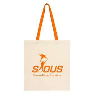 "Buy in Bulk Reusable Cotton Canvas Custom Tote Bag - 15""w x 16.25""h Online"