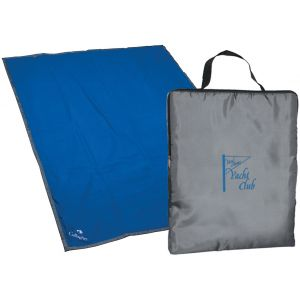 "Order Reversible Fleece/Nylon Customized Blankets - 50"" x 70"" Top Print Company"