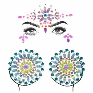 Rhinestone Body Jewelry Stickers | Gem Stickers
