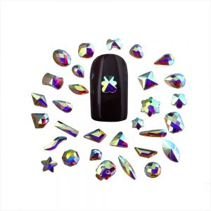 Rhinestone Nail Stickers | Diamante Stickers