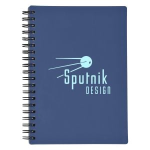 Top Print Rubberized Spiral Bound Custom Notebook Top Printing Supplier