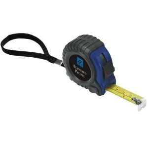 Personalised Rubber/Plastic Promotional Tape Measure - 12' By High Quality Production