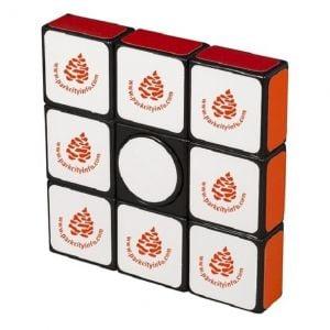 Budget Rubik's Cube Custom Fidget Spinner Stress Reliever Dependable Printing Factory