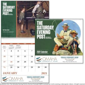 Lowest Price Saturday Evening Post - 13 Month Custom Calendar Best Printing Store