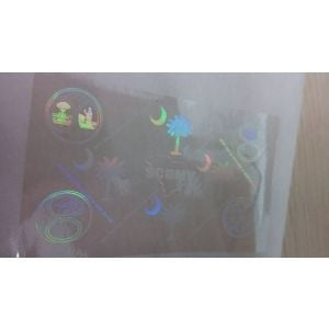 Custom South Carolina Hologram Overlay Stickers | SC ID Hologram Overlay