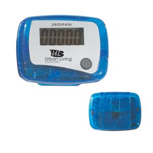 Manufacture in Bulk Single Function Promotional Pedometer w/ Clip At a Discount