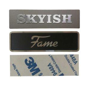 Aluminium Labels | Custom Metal Stickers
