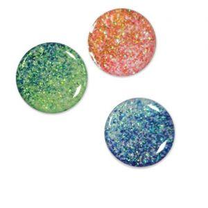 Glitter Epoxy Stickers | 3D Dome Stickers
