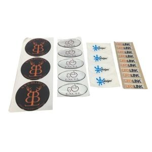 Large Epoxy Stickers | Epoxy Resin Stickers
