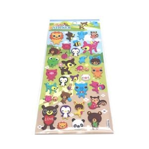 Puffy Animal Stickers | Puffy Stickers Custom