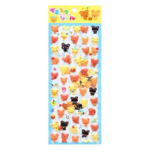 Kawaii Puffy Stickers | Reusable Puffy Stickers