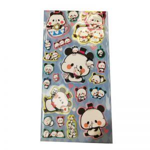 Puffy Panda Stickers | Puffy Animal Stickers