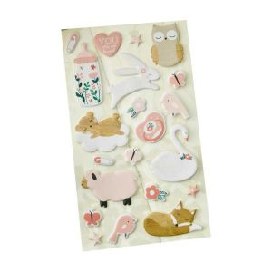 Hello Kitty Puffy Stickers | Puffy Stickers for Kids