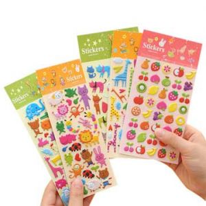 Vintage Puffy Stickers | Custom Puffy Stickers
