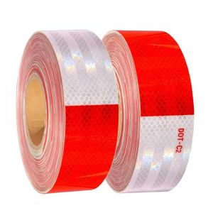 Red And White Reflective Tape | Automotive Reflective Tape