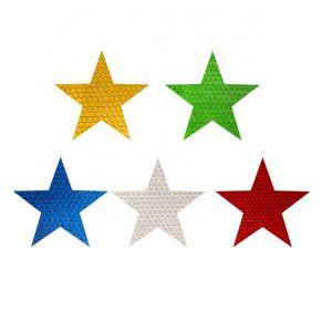 Reflective Star Stickers | Scotchlite Reflective Tape