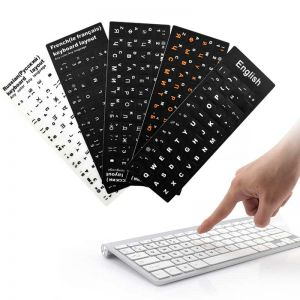 Wholesale Arabic/Russian/Hebrew/Japanese/Thai Keyboard Stickers | Keyboard Stickers For PC