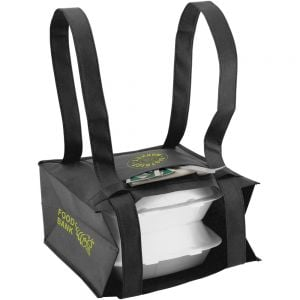 "Order Small To-Go Delivery Custom Bag - 11""w x 11""h x 6""d At Low Offer"
