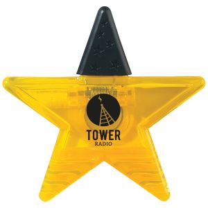 Order Star Shaped Memo Clips w/ Rubber Grip Best deal online