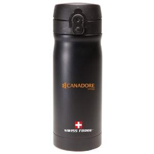 Lowest Price Swiss Force Double-Wall Stainless Steel Custom Bottle - 12 oz. Best deal online