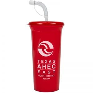 Cheap Tapered Custom Tumbler w/ Cover & Straw - 32 oz. Best Printing Factory