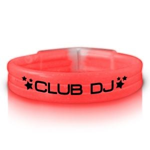 Reasonable Priced Thick Neon Custom Glow Bracelet Top Print Supplier