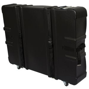 Economical Trade Show Display Storage Cases w/ Wheels - Blank Top Print Company