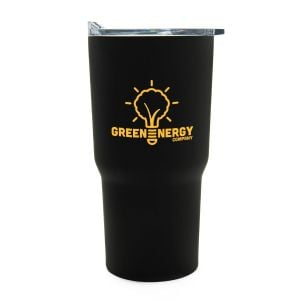 Budget Triple Insulated Stainless Steel Tapered Custom Tumbler - 30 oz. For Sale