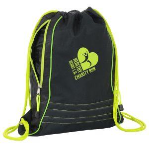 "Buy Two-Tone Custom Drawstring Backpack - 14.5""w x 18""h Top Printing Store"
