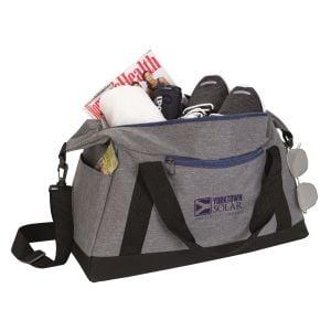 "Order Two-Tone Custom Sports Duffle Bag - 18"" Best Print Supplier"