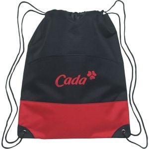 "Personalised Two-Tone Custom Drawstring Bag - 13.5""w x 17""h Dependable Printing Manufacturer"