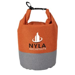 Economical Manufacture Two-Tone Heather Waterproof Custom Dry Bag - 5L Dependable Print Manufacturer