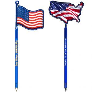 Wholesale USA Flag Promotional Pen Best Print Company