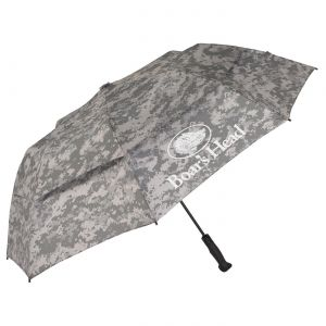 "Lowest Price Vented Custom Golf Umbrella w/ Rubber Golf Handle - 58"" Best deal online"