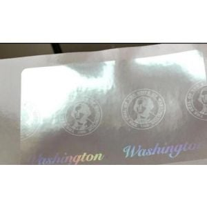 Custom Washington Hologram Overlay Stickers | WA ID Hologram Overlay