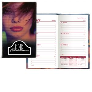 Cheap Print Weekly Custom Pocket Planner - Salon Theme - One Color Insert Dependable Printing Manufacturer