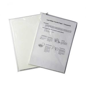 White Waterslide Decal Paper | Waterslide Decal Paper Laser