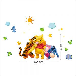 Winnie the Pooh Wall Stickers | Custom Vinyl Wall Decals