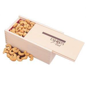 Purchase Wooden Collector's Custom Gift Boxes filled w/ Cashews Printing Manufacturer