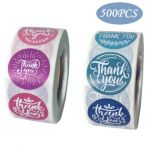 Custom Thank You Stickers | Cheap Thank You Labels on a Roll | TY016 Ready In Stock