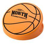 "Personalised Basketball Shaped Keep-It Custom Bag Clip - 3"" Best Printing Manufacturer"